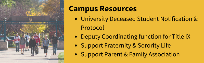 campus resources description and link to that homepage