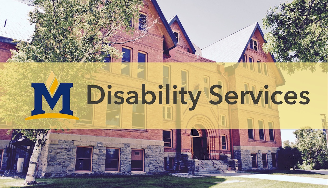 Disability Services Banner