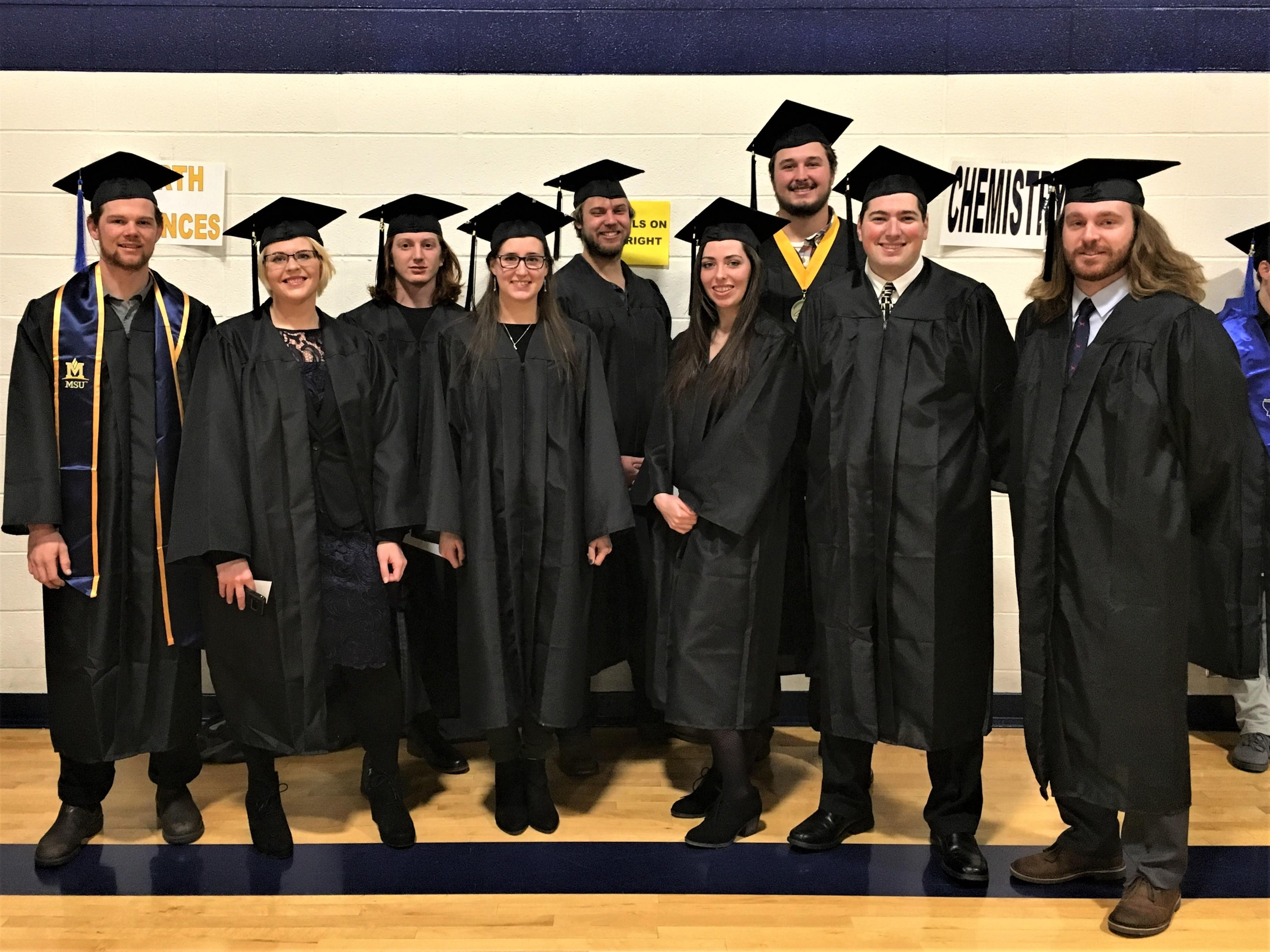 Congrats ESCI grads of Fall 2017!