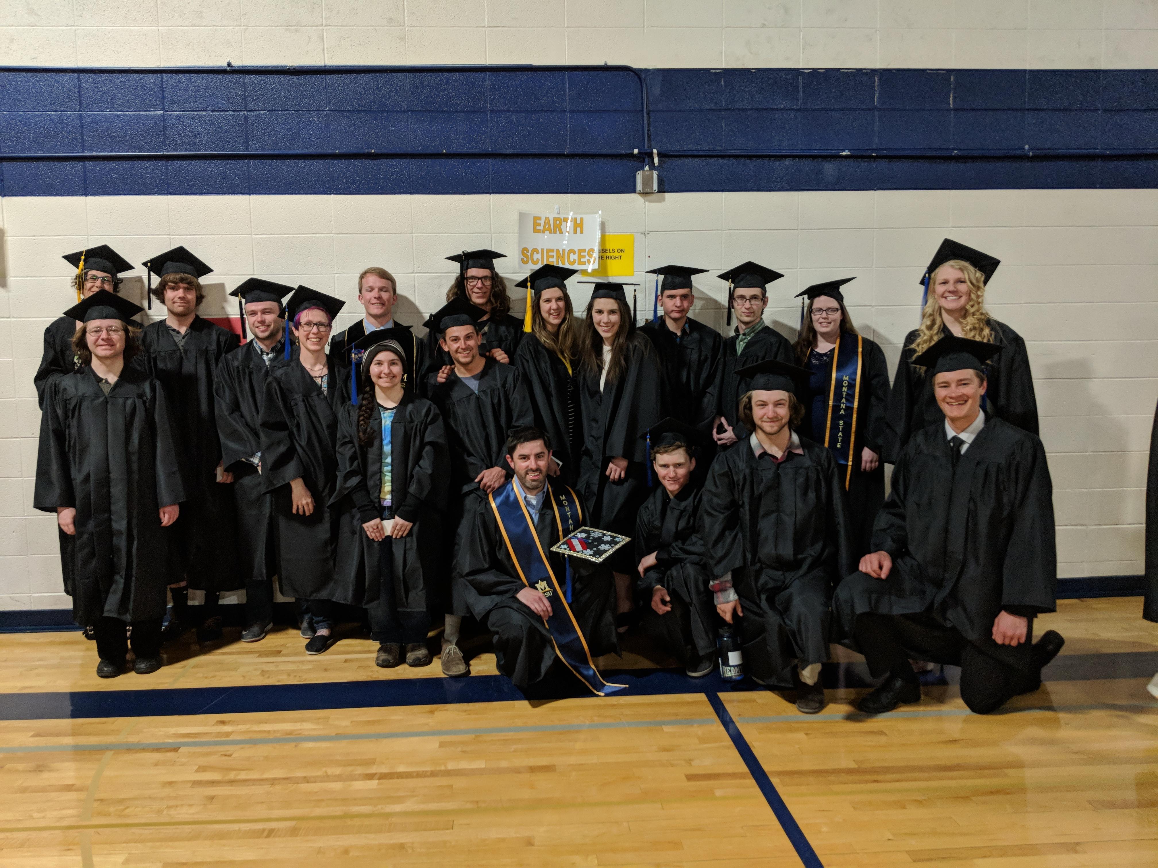 ESCI Spring 2018 Graduates