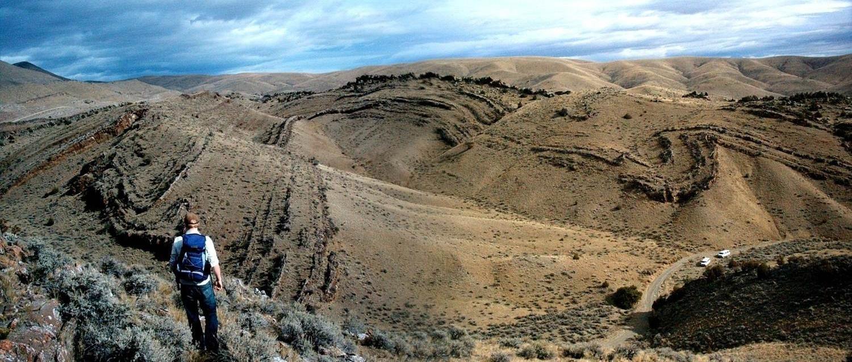 Folded Cretaceous Rocks