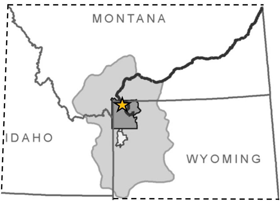 Yellowstone National Park project area