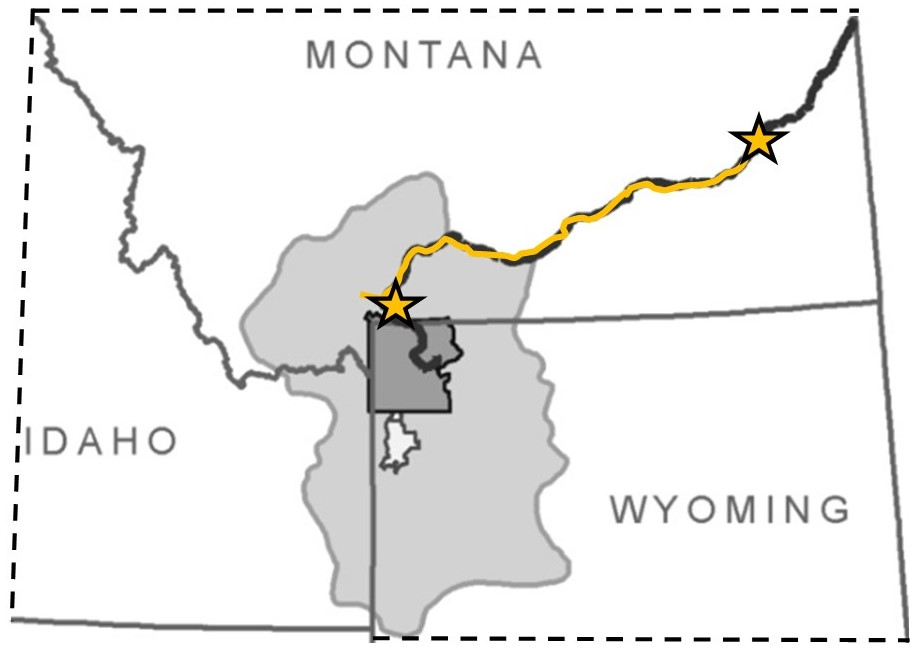 Yellowstone River Project Area
