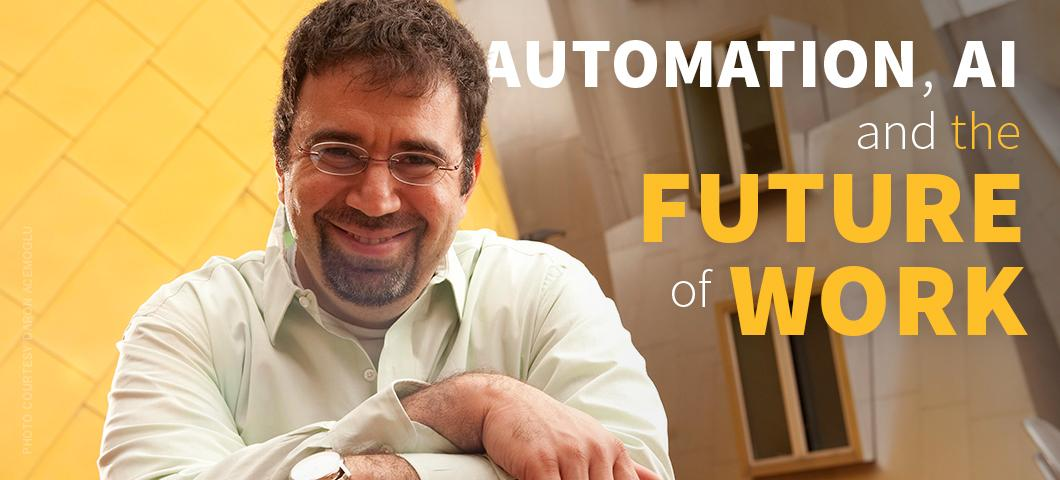 Distinguished Lecture: Daron Acemoglu will deliver a free public lecture Oct. 14 at MSU