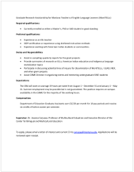 MonTELLs reporting position information