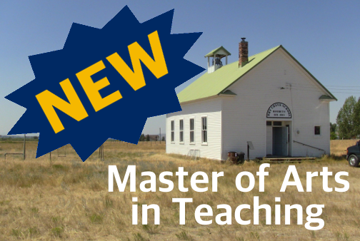 New - Master of Arts in Teaching