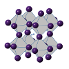 Structure of Perovskite photovoltaic material