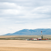 Well being drilled on the Kevin Dome project site near Sunburst Montana