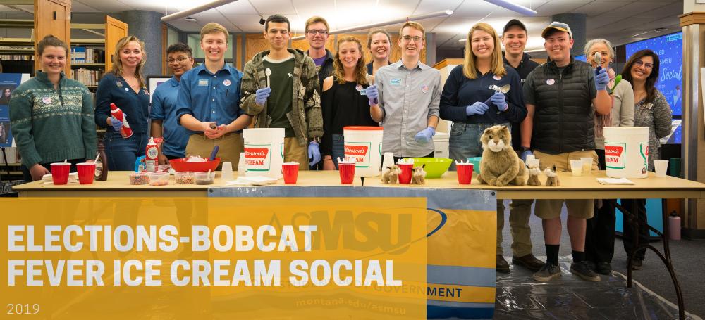 elections bobcat fever ice cream social