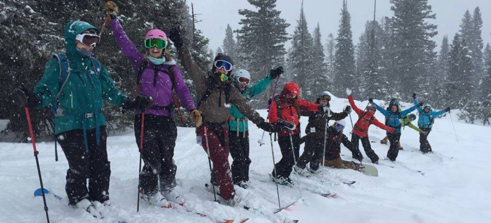 Backcountry Squatters skiing