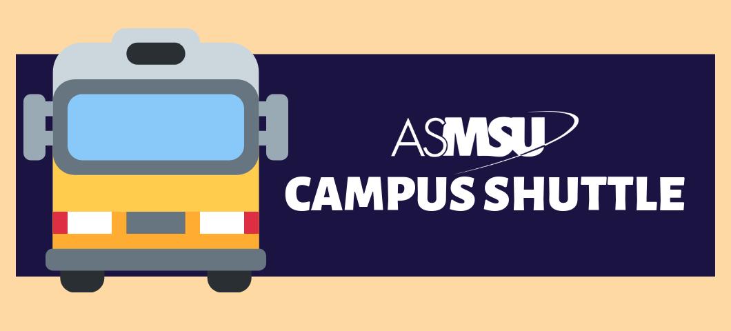 ASMSU Campus Shuttle Poster
