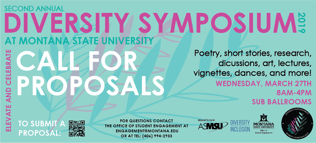 call for proposals for the diversity symposium
