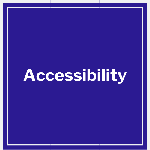 link to accessiblity policy