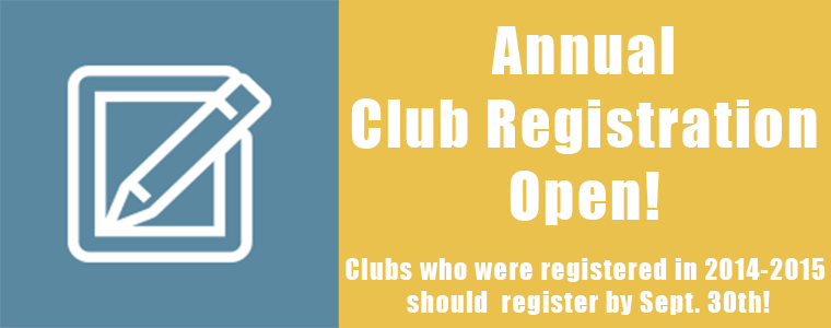 Annual Registration