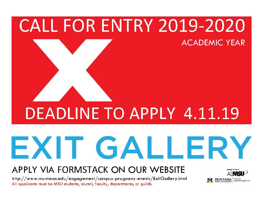 call for entry 2019-2020 apply by 4.11