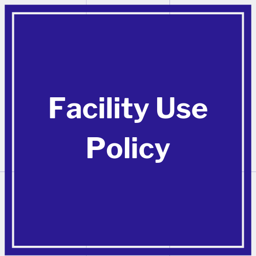 link to facility use policy