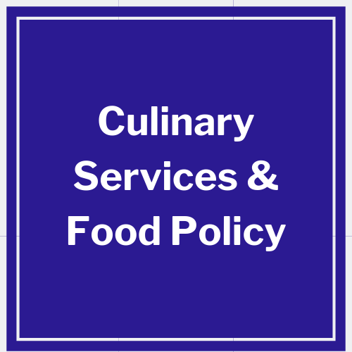 link to culinary services and food policy