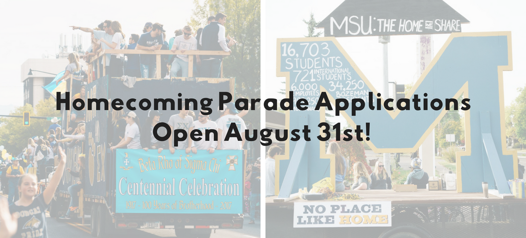 homecoming parade app opens aug 31