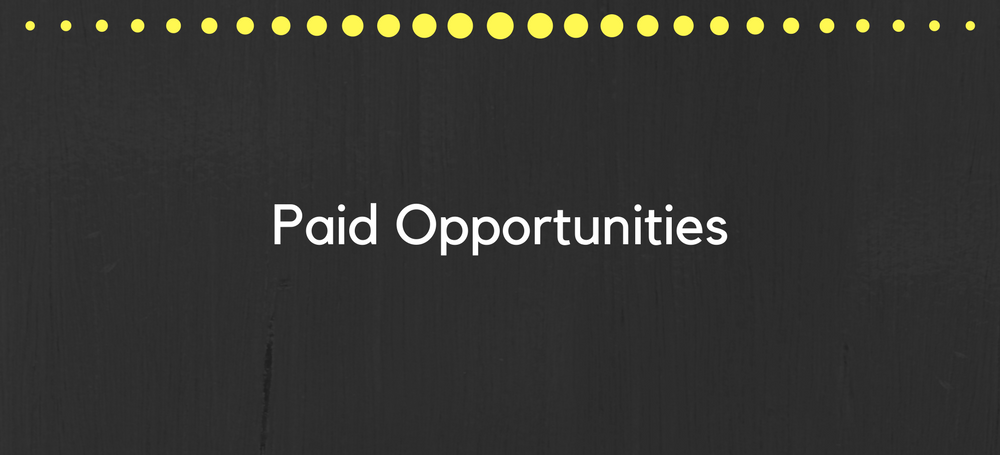 paid opportunities
