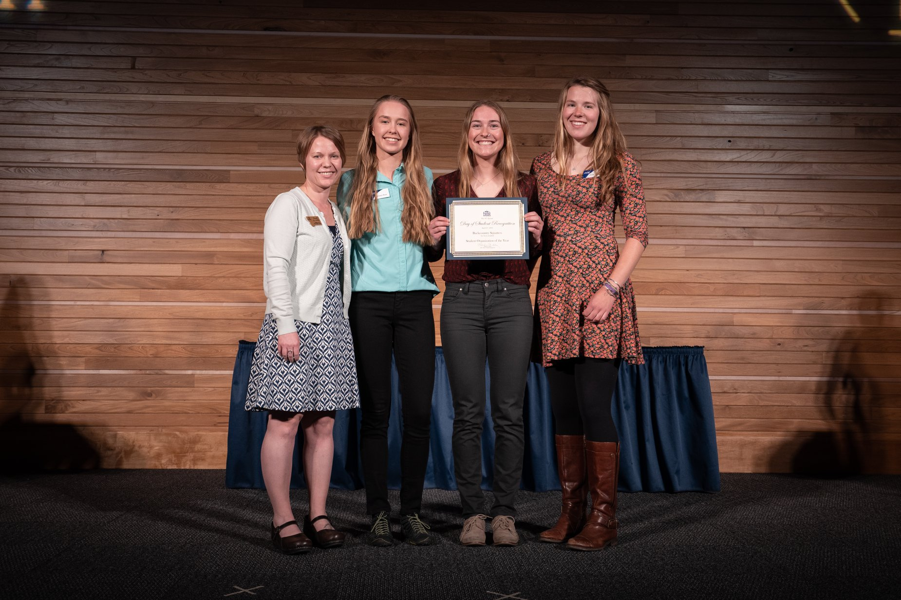Backcountry Squatters, 2019 Student Organization of the Year