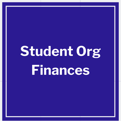 link to student organization finances