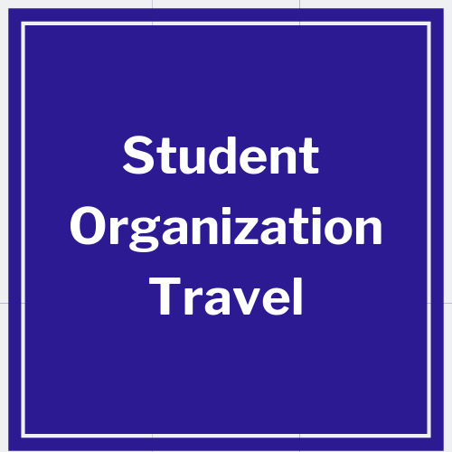 link to student organization travel policy