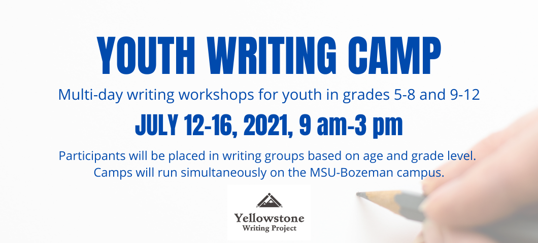 YWP Youth Writing Camp 2021
