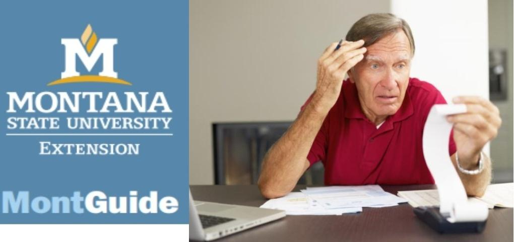 New MontGuide:  Financial, Estate, and Health Care Planning Documents for Montanans Concerned About Memory Loss