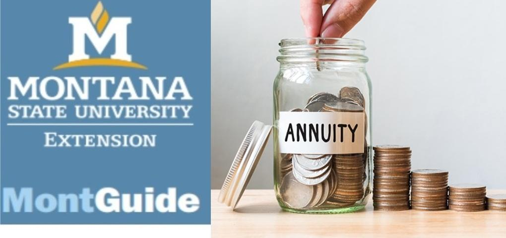 New MontGuide:  Save Montana Income Taxes Charitable Gift Annuity