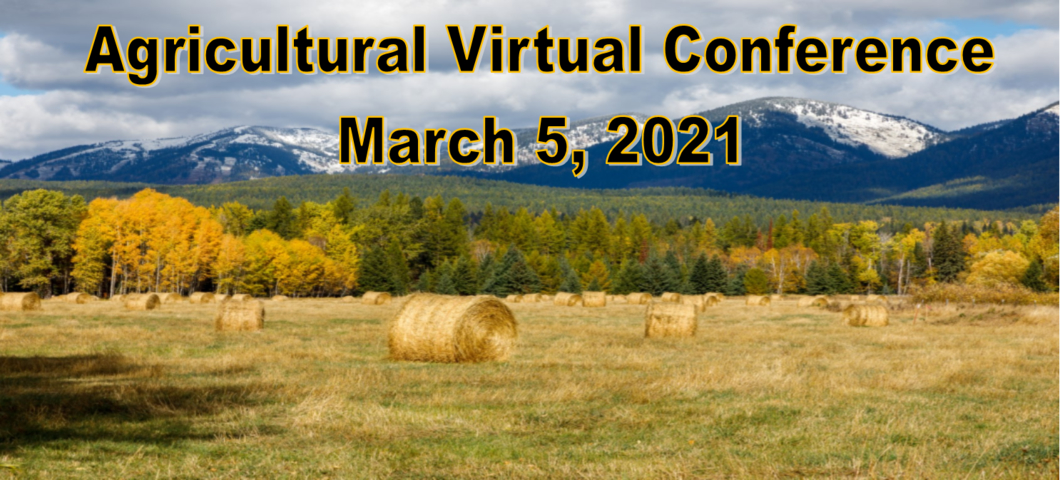 Agricultural Virtual Conference on March 5 Download Agenda