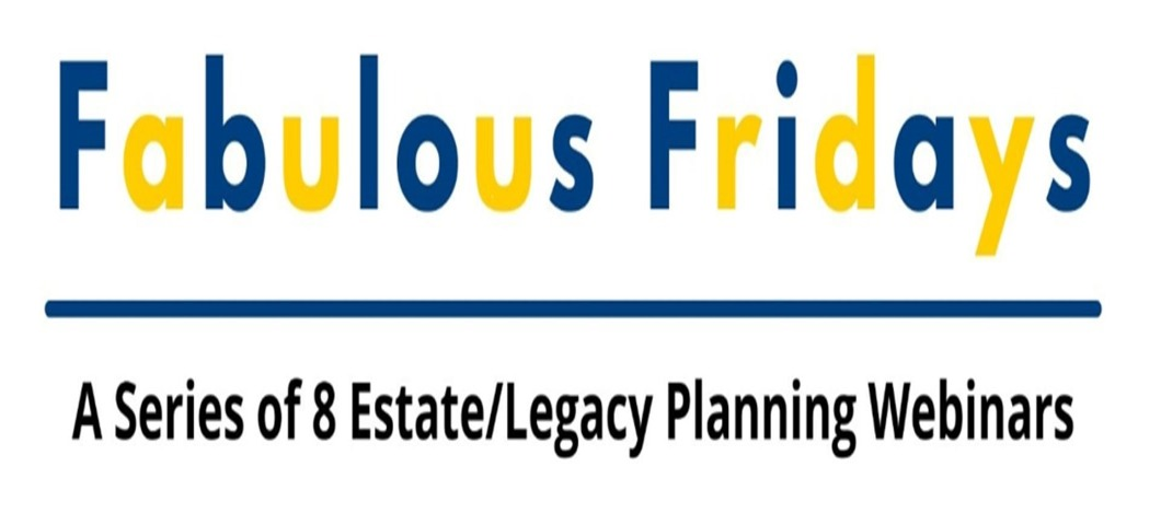 Fabulous Fridays Webinars Start October 1