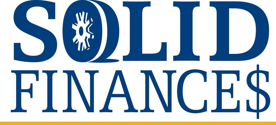 Solid Finances Webinar Series Starting on October 30