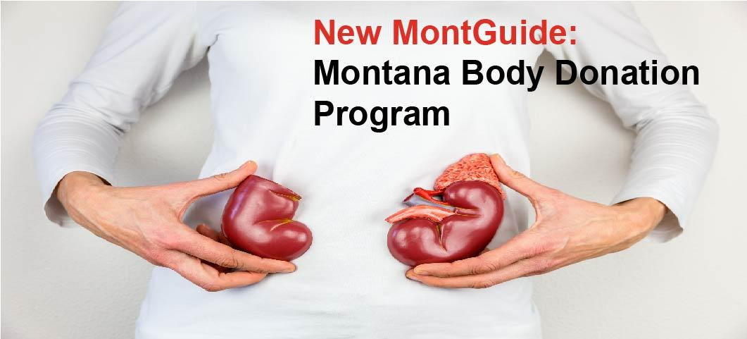 NEW MontGuide:  Montana Body Donation Program