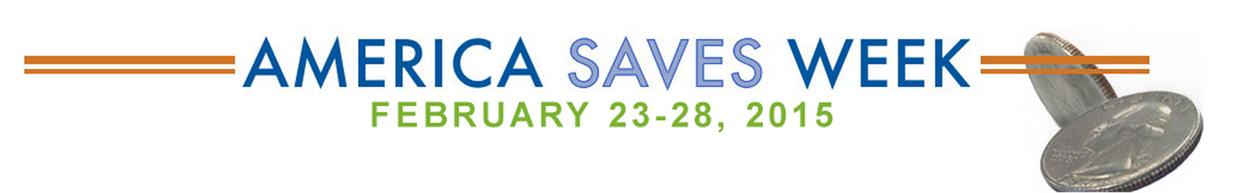 America Saves Week 2015