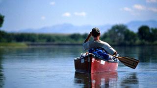 Canoeing in Montana