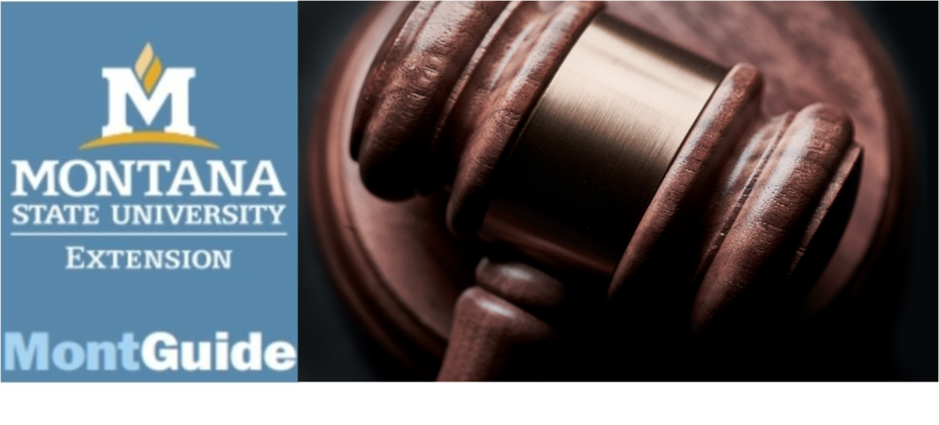 New MontGuide:  Selecting an Attorney in Montana
