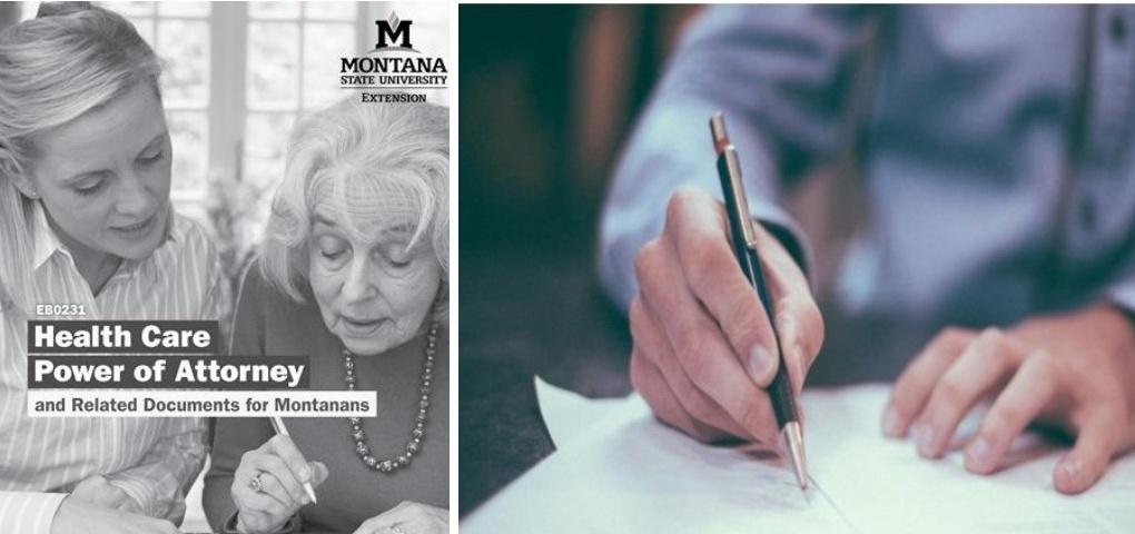 New: Health Care Power of Attorney and Related Documents for Montanans
