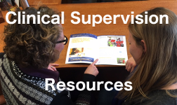 Clinical Supervision Resources