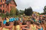 Pi Beta Phi Bid Day Circle