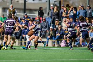 MSU Men's Rugby Team in action.