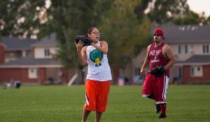 Outdoor Intramural Softball.