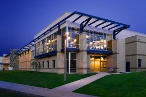 Exterior view of the Hosaeus Fitness Center.