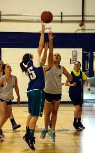 Intramural Women's Basketball
