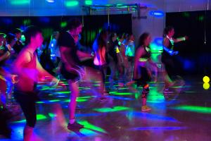 Free Group Exercise Glow Dance