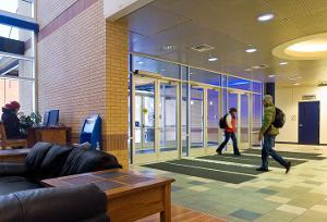 HFC interior entrance.