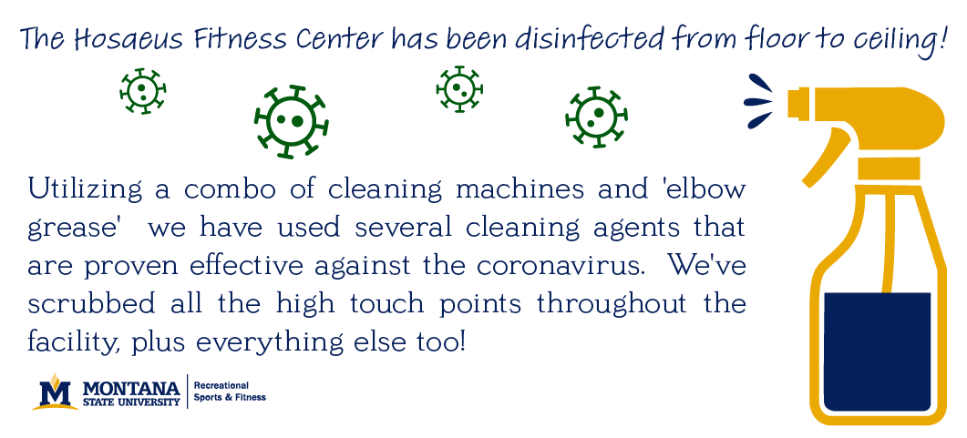 Utilizing acombo of cleaning machines and elbow grease we have used several cleaning agents that  are proven effective against the coronavirus.  We've scrubbed all the high touch points throughout the facility, plus everything else too!  We'll let you know as soon as we're ready to reopen.