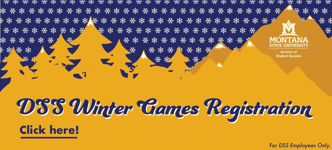 This banner is a link to the DSS Winter Games Registration.  This is for DSS Employees Only.