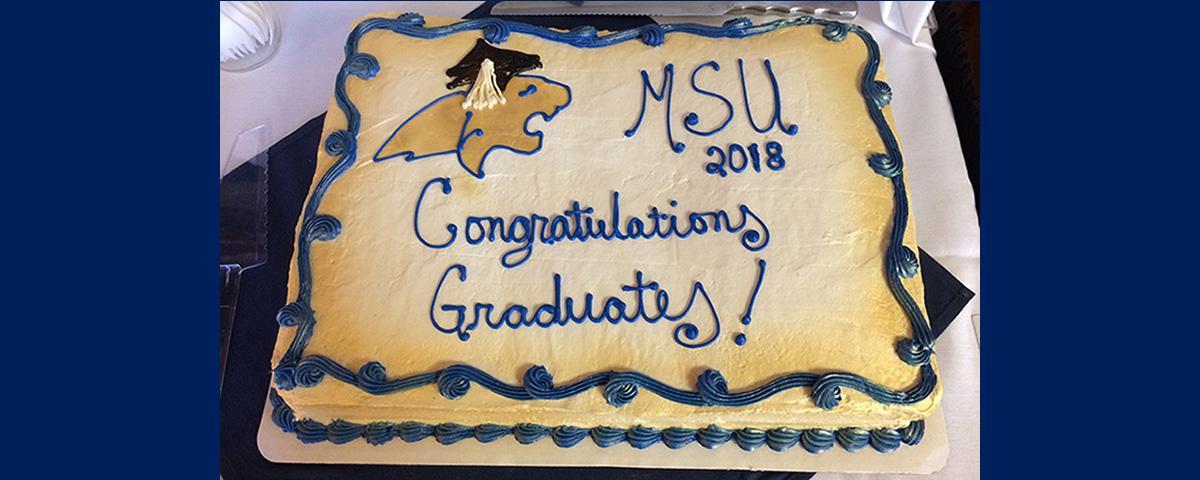 2018 Graduation Cake
