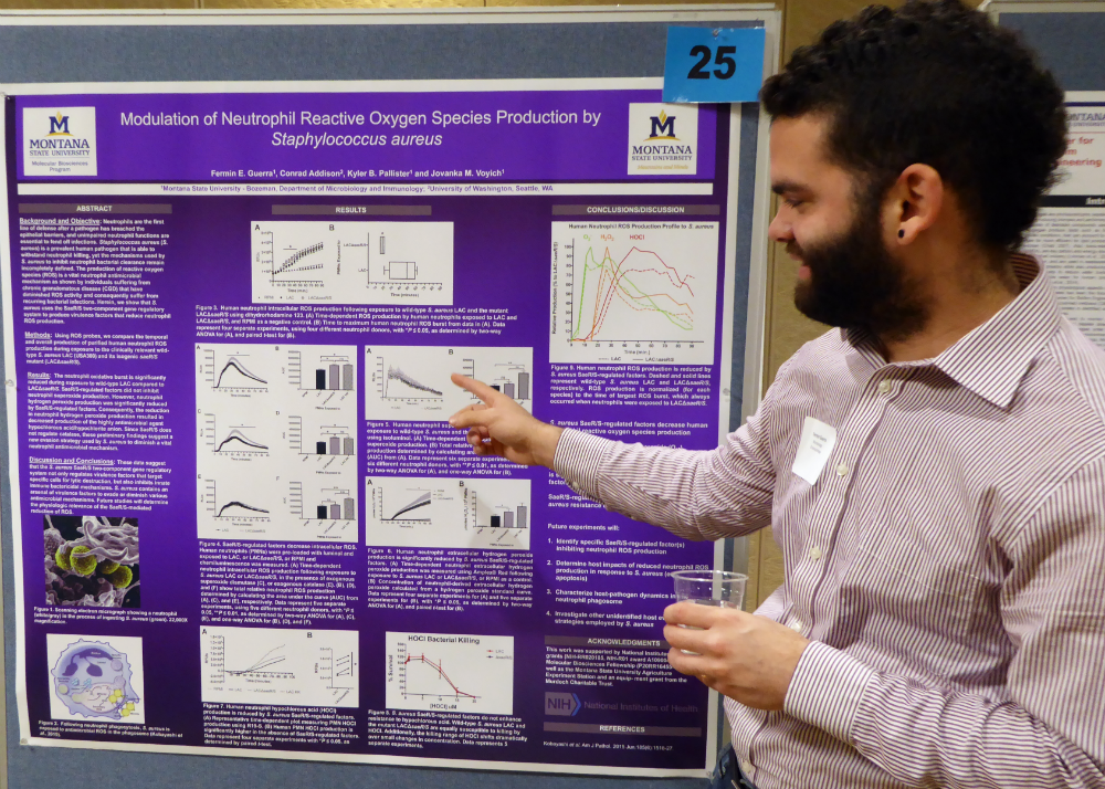 Poster presenter image