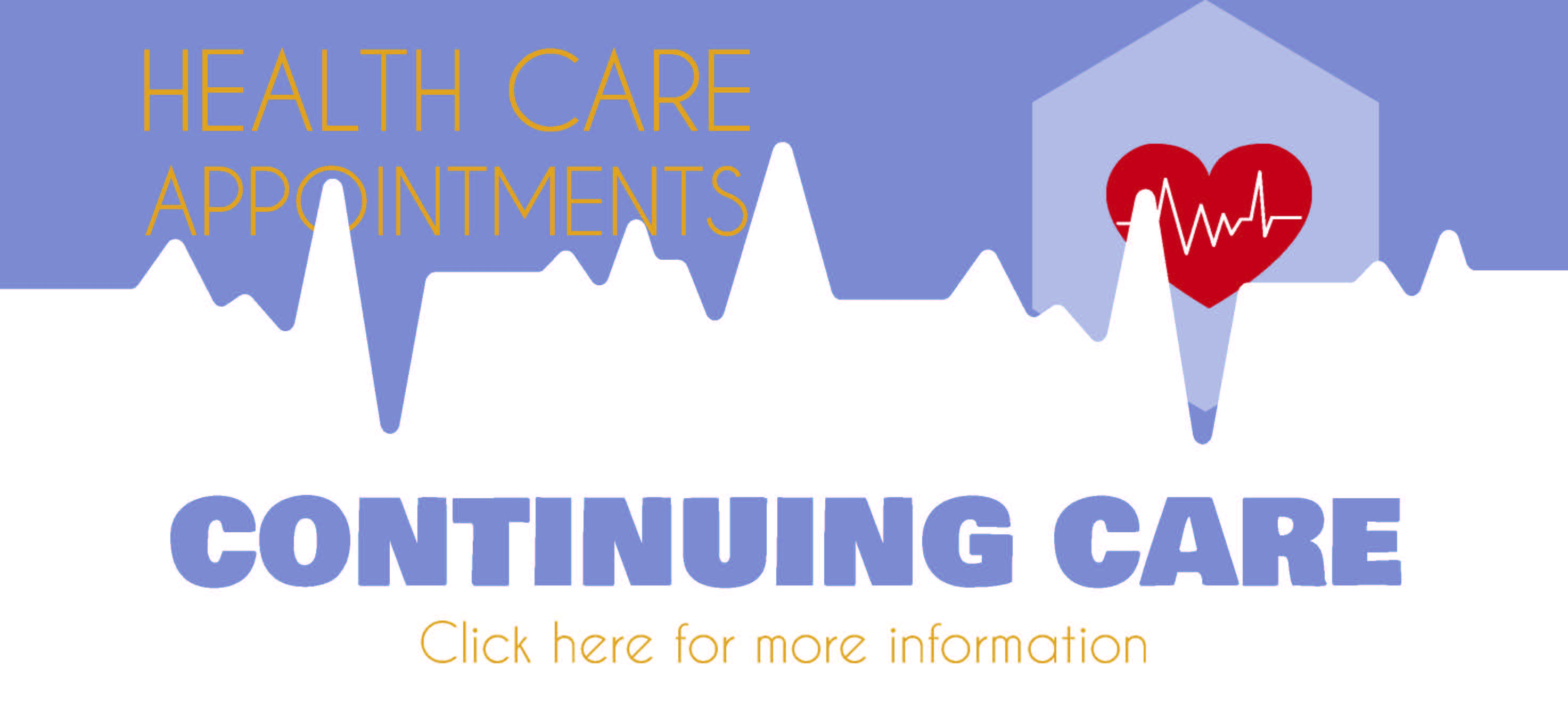 Continuing care image with heart